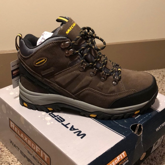 Skechers Relaxed Fit Waterproof Boots NWT